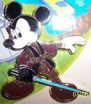 DLR - Mickey's Pin Odyssey 2008 - Easel Boxed Set (Jedi Mickey Only)