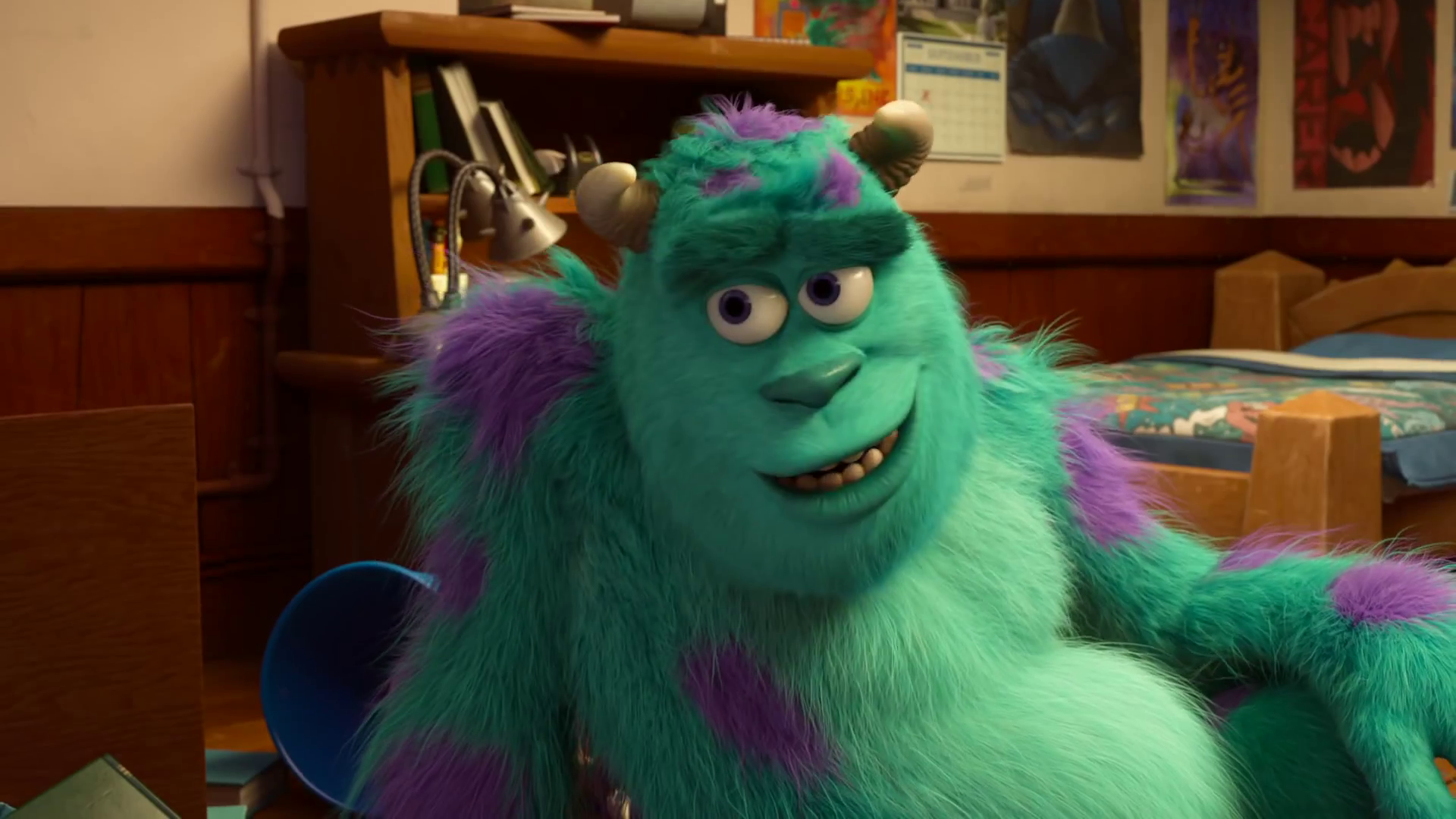 Image - Sulley in Monsters University.png | Disney Wiki ...