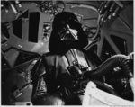 Vader piloting his TIE