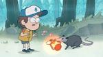 Dipper's stolen lantern