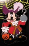 Disney Halloween 2006 Pirate Mickey Mouse as Captain Hook