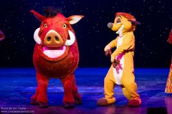 Timon and Pumbaa DisneyDreams