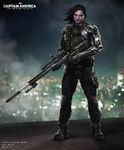Josh Nizzi Winter Soldier Concept Art II