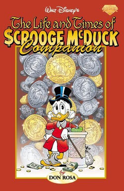 Life and Times of Scrooge McDuck companion book