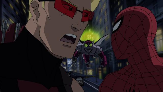 File:Beetle Spider-Man Hawkeye USM 3.png