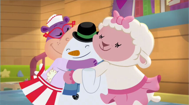 File:Hallie, chilly and lambie hugging.jpg
