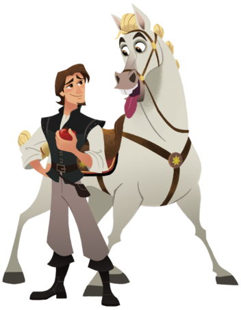 File:Tangled - Eugene and Maximus.png