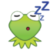 EmojiBlitzKermit-sleep