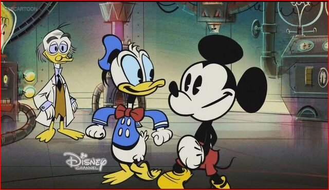 File:Mickey and Donald's friendship.jpg