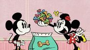 Mickey minnie dog biscuits