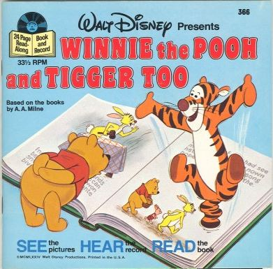 File:Winnie the Pooh and Tigger Too Disney Read Along Record.JPG