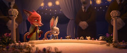 Zootopia Nick and Judy at Wedding