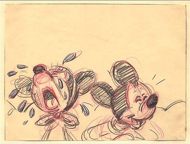 File:Disney's Mickey Mouse - The Nifty Nineties - Storyboard - 6 - Detail.jpg