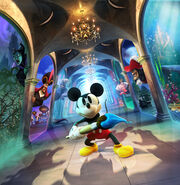 Epic Mickey Power of Illusion artwork