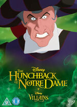 The Hunchback of Notre Dame Disney Villains 2014 UK DVD
