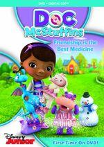 Doc McStuffins Friendship is the Best Medicine DVD