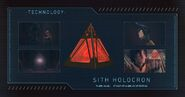 Sith Holocron Info