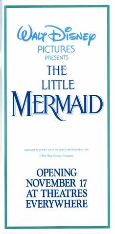 File:The Little Mermaid - 1989 Pictureless Print Ad from Disneyland Guide.jpg