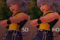 KH 1.5 HD ReMIX SD vs HD