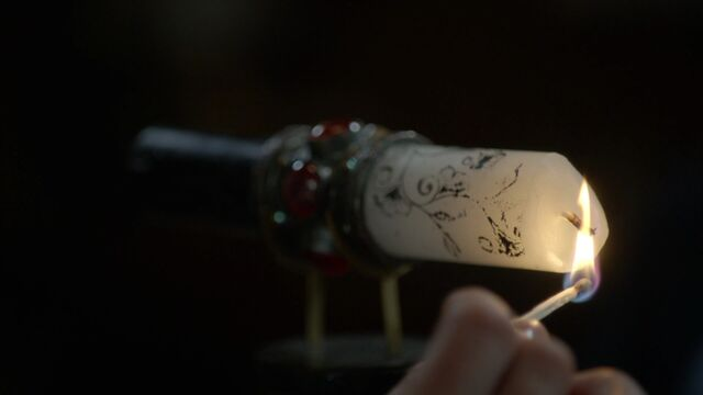 File:Once Upon a Time - 3x18 - Bleeding Through - Enchanted Candle Being Lit.jpg
