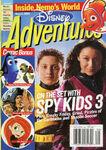 Disney Adventures Magazine cover August 2003 Spy Kids 3