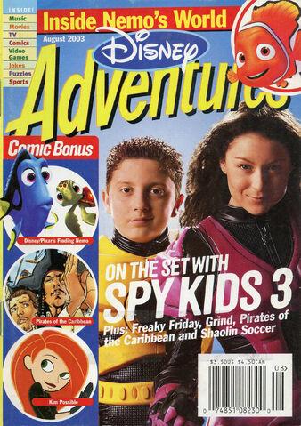 File:Disney Adventures Magazine cover August 2003 Spy Kids 3.jpg