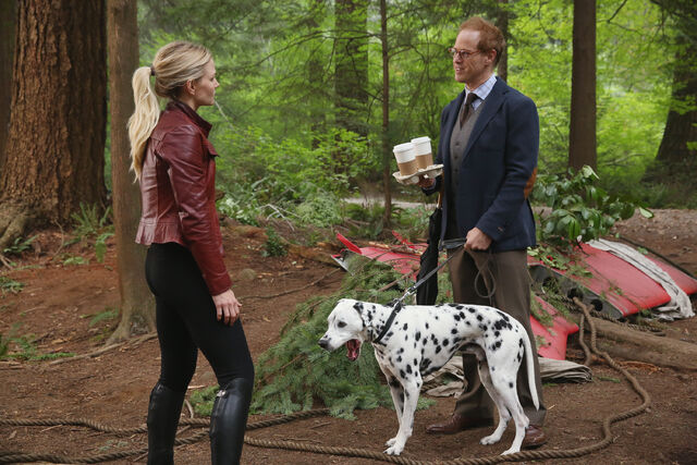 File:Once Upon a Time - 6x01 - The Savior - Released Images - Emma, Archie and Pongo.jpg