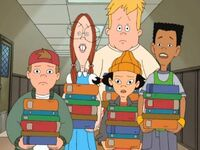 The Gang With Books