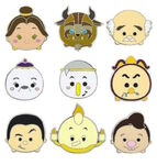Beauty and the Beast Tsum Tsum Pins