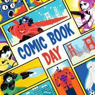 Big Hero 6 Comic Book Day