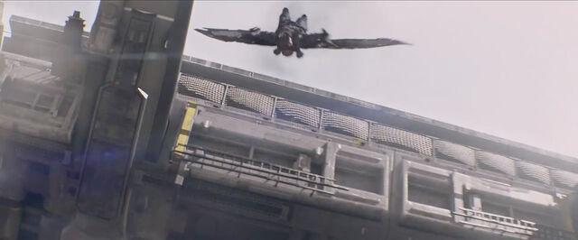 File:Falcon in Flight.jpg