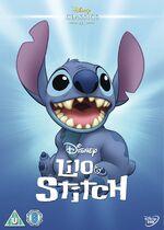 Lilo & Stitch UK DVD 2014 Limited Edition slip cover