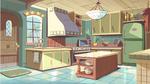 Diaz house kitchen