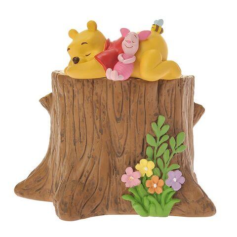 File:Maceta de jardín puso Winnie the Pooh bosque de la primavera y Piglet.jpg
