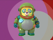 Oso space suit opening