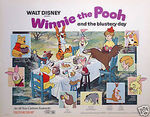 Winnie the Pooh and the blustery day lobby movie poster
