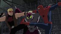 Beetle Spider-Man Hawkeye USM 1