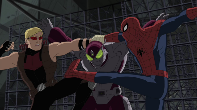File:Beetle Spider-Man Hawkeye USM 1.png