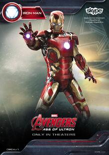Iron Man AOU Skype promo