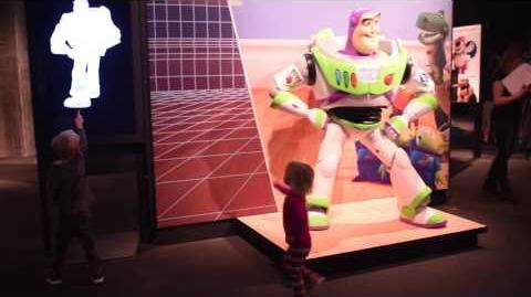 "Highlights of ""The Science Behind Pixar Exhibition"""