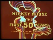Mickey Mouse 50