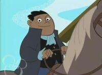 Wade Load on a Horse