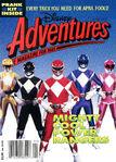 Disney adventures magazine cover april 1994 power rangers