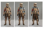 Shoretrooper color variations
