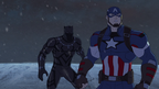 Captain America and Black Panther AUR 05