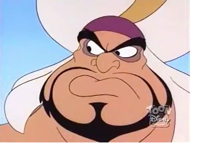 File:Razoul looks at Aladdin that Iago is taking order him.png