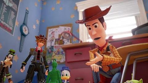 KINGDOM HEARTS III – D23 2017 Toy Story Trailer