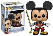Mickey Kingdom Hearts Funko