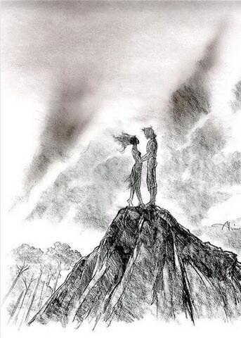File:Disney's Pocahontas - Concept Art by John Alvin - Silhouette.jpg