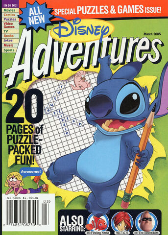 File:Disney Adventures Magazine cover March 2005 Stitch.jpg